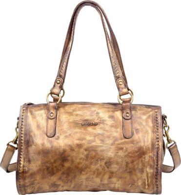 Old Trend Leaf Satchel Vintage Gold - Old Trend Leather Handbags