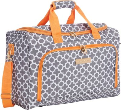 Jenni Chan Aria Broadway 17 inch Duffel Bag Grey - Jenni Chan Travel Duffels