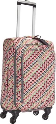 Jenni Chan Tiles 20 inch Upright Spinner Multi - Jenni Chan Softside Carry-On