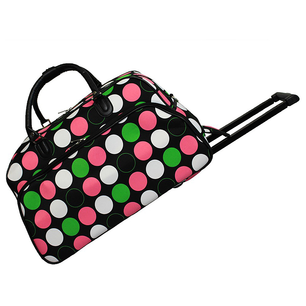 World Traveler New Multi Dot 21 Rolling Duffel Bag New Multi Dot - World Traveler Rolling Duffels - Luggage, Rolling Duffels