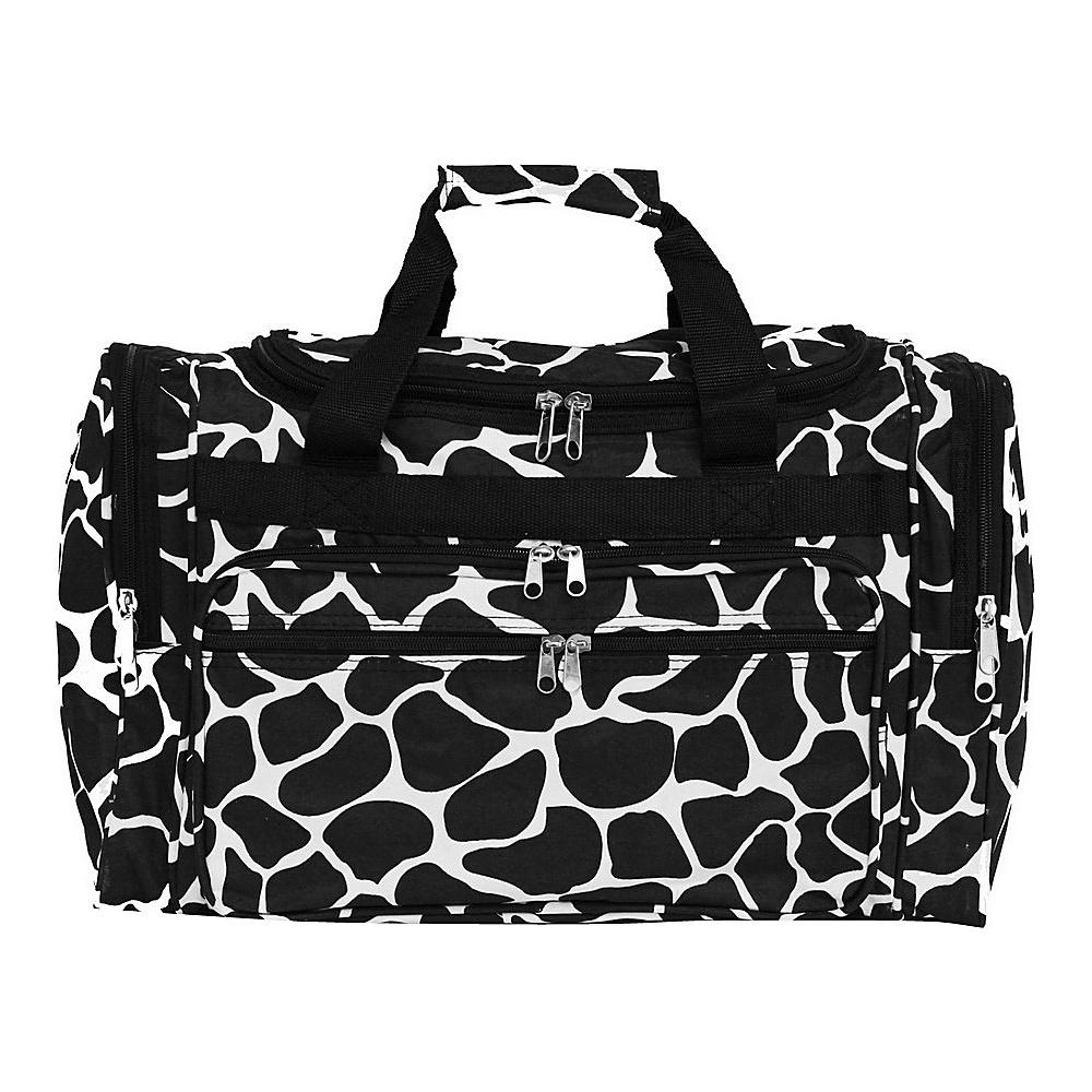 World Traveler Giraffe 19 Shoulder Duffle Bag Giraffe - World Traveler Rolling Duffels - Luggage, Rolling Duffels