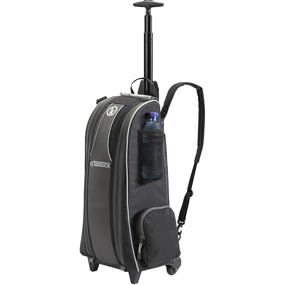 Cramer Decker Medical O2 Sidekick Roller Bag/Backpack Black - Cramer Decker Medical Other Sports Bags