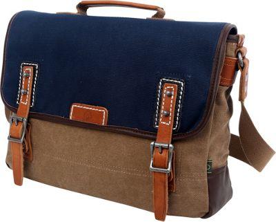 TSD Mountain Wood Messenger Navy - TSD Messenger Bags