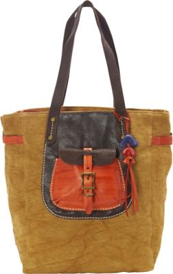 TSD Moss Wood Tote Khaki - TSD Fabric Handbags