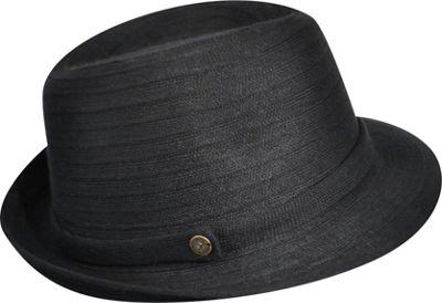 Karen Kane Hats Lux Braid Fedora One Size - Black - Karen Kane Hats Hats/Gloves/Scarves