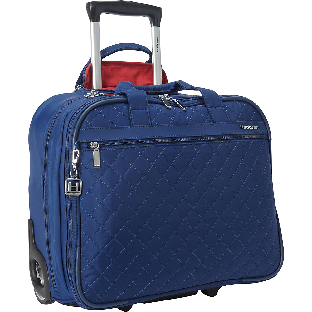 Hedgren Cindy Rolling Business Tote Estate Blue - Hedgren Wheeled Business Cases
