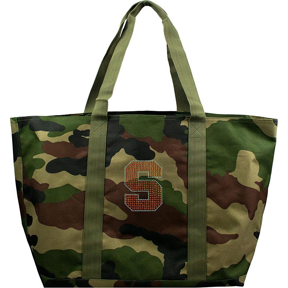 Littlearth Camo Tote - ACC Teams Syracuse University - Littlearth Fabric Handbags - Handbags, Fabric Handbags