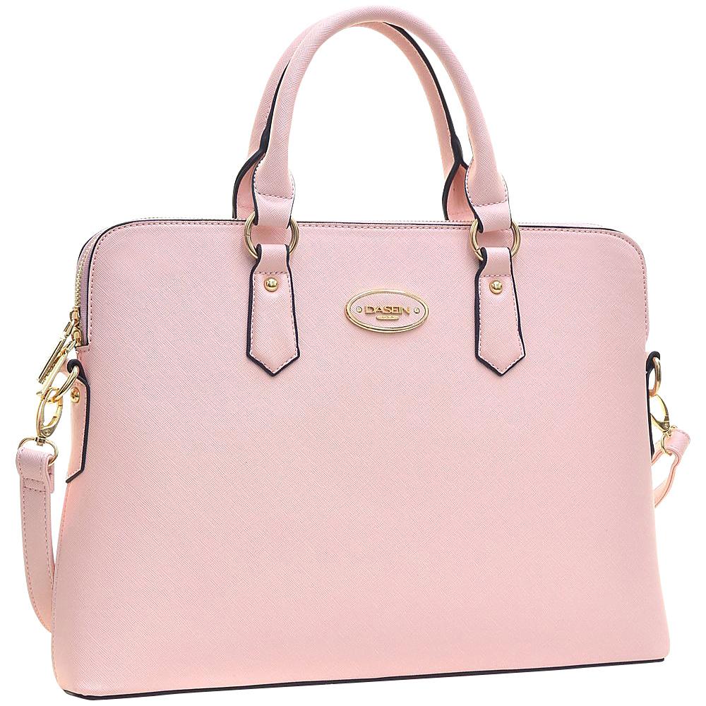 Dasein Slim Briefcase with Removable Shoulder Strap Pink - Dasein Gym Bags - Sports, Gym Bags