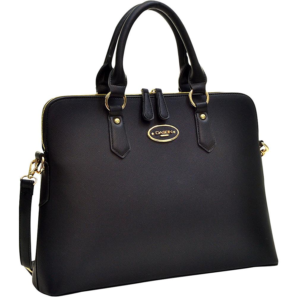 Dasein Slim Briefcase with Removable Shoulder Strap Black - Dasein Gym Bags - Sports, Gym Bags