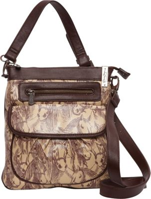 Donna Sharp Chloe Crossbody - Exclusive Thoroughbred - Donna Sharp Fabric Handbags