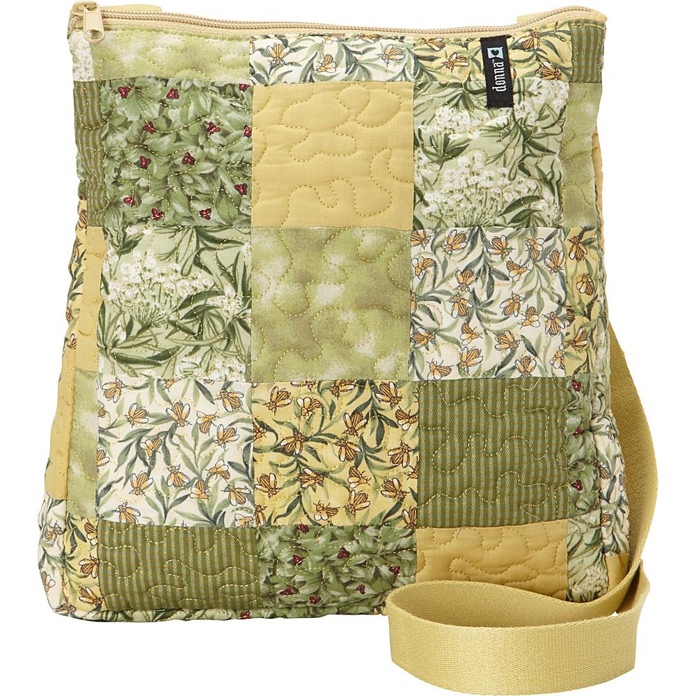 Donna Sharp Large Lafayette Crossbody Exclusive Botanical Donna Sharp Fabric Handbags