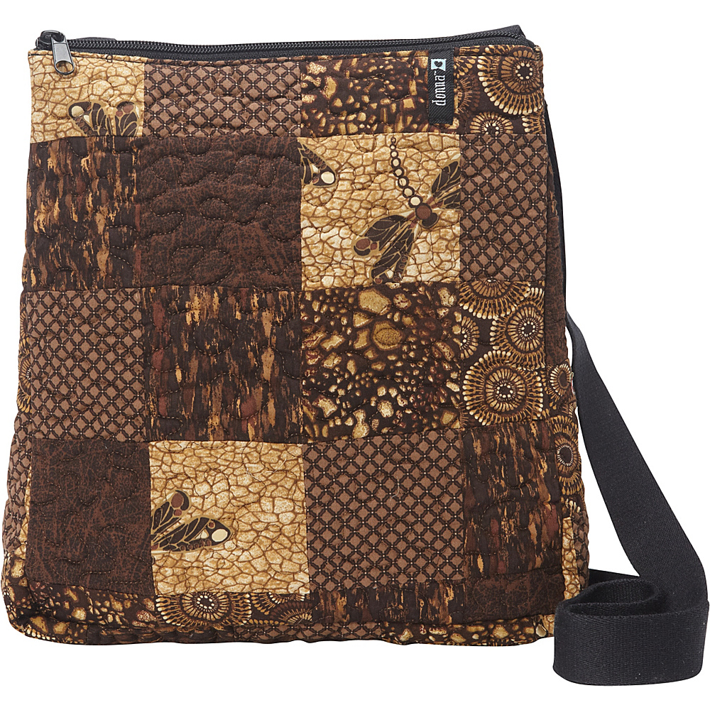 Donna Sharp Large Lafayette Crossbody Exclusive Dragonfly Donna Sharp Fabric Handbags