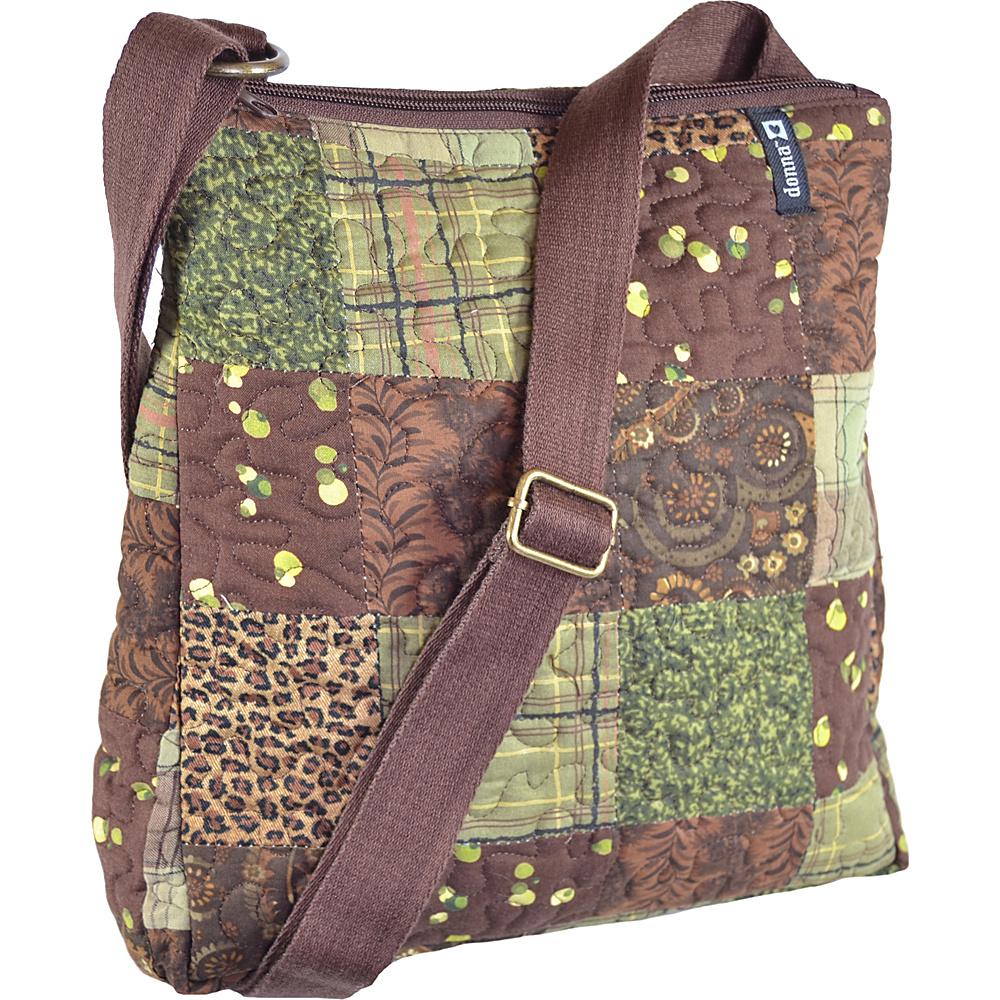 Donna Sharp Large Lafayette Crossbody - Exclusive Safari - Donna Sharp Fabric Handbags