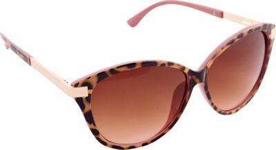 Nanette Nanette Lepore Sunglasses Accented Cat Eye Sunglasses Tortoise/Blush - Nanette Nanette Lepore Sunglasses Sunglasses