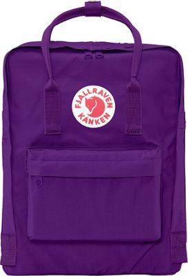 Fjallraven Kanken Backpack Purple - Fjallraven Everyday Backpacks