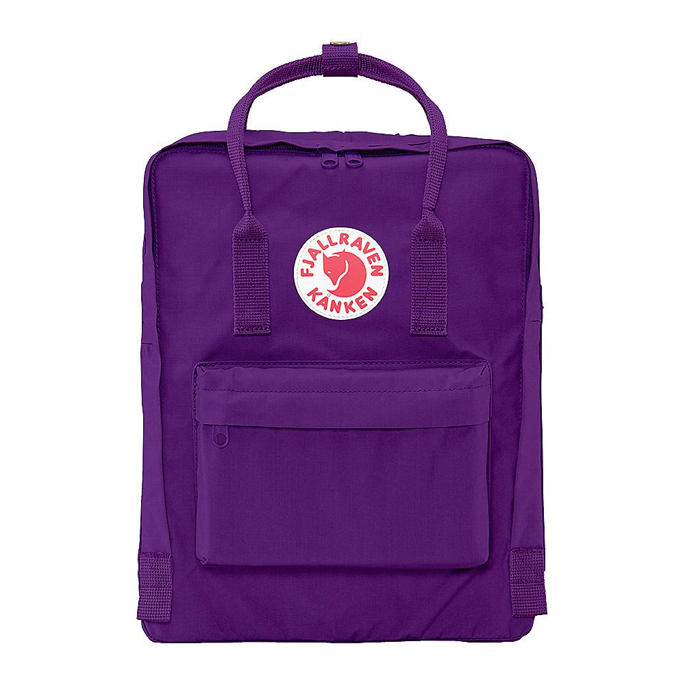 Fjallraven Kanken Backpack Purple - Fjallraven Everyday Backpacks - Backpacks, Everyday Backpacks