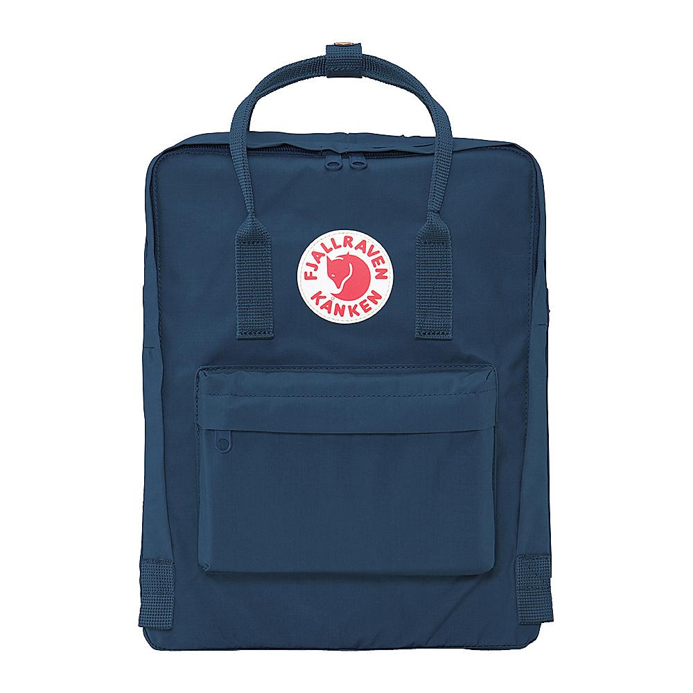 Fjallraven Kanken Backpack Navy - Fjallraven Everyday Backpacks - Backpacks, Everyday Backpacks
