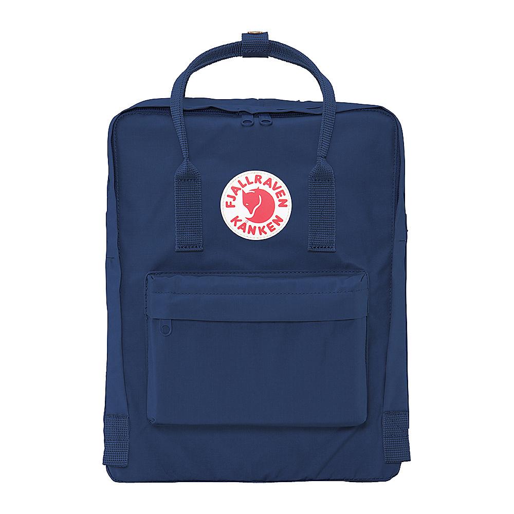 Fjallraven Kanken Backpack Royal Blue - Fjallraven Everyday Backpacks - Backpacks, Everyday Backpacks