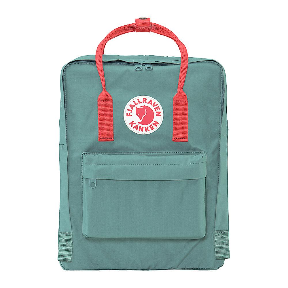 Fjallraven Kanken Backpack Frost Green-Peach Pink - Fjallraven Everyday Backpacks - Backpacks, Everyday Backpacks