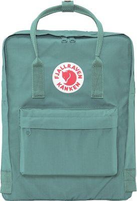 Fjallraven Kanken Backpack Frost Green - Fjallraven Everyday Backpacks