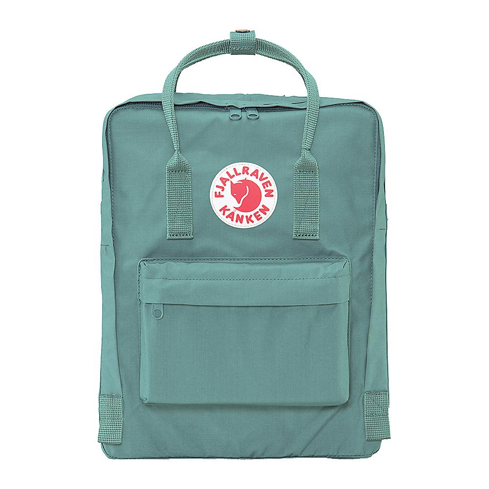 Fjallraven Kanken Backpack Frost Green Fjallraven Everyday Backpacks