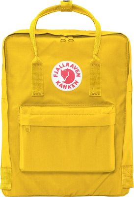 Fjallraven Kanken Backpack Warm Yellow - Fjallraven Everyday Backpacks