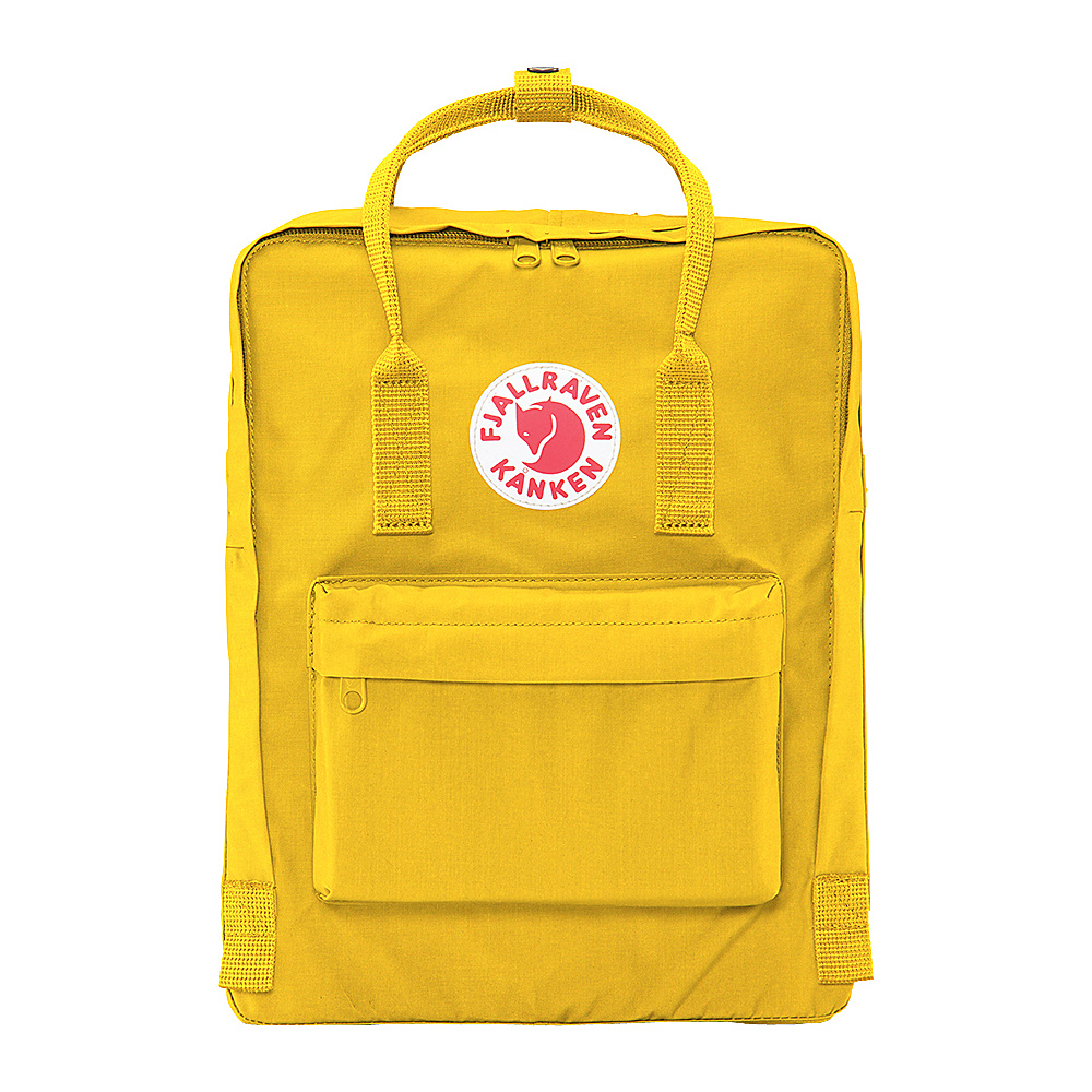 Fjallraven Kanken Backpack Warm Yellow - Fjallraven Everyday Backpacks - Backpacks, Everyday Backpacks