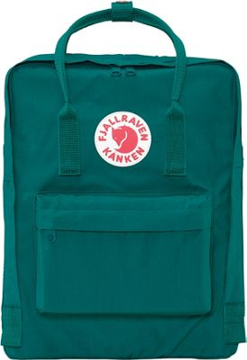 Fjallraven Kanken Backpack Ocean Green - Fjallraven Everyday Backpacks