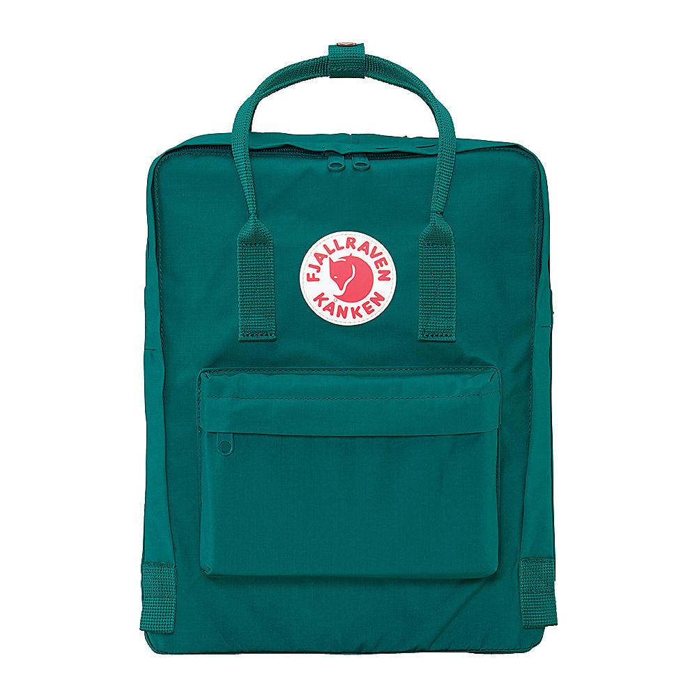 Fjallraven Kanken Backpack Ocean Green Fjallraven Everyday Backpacks