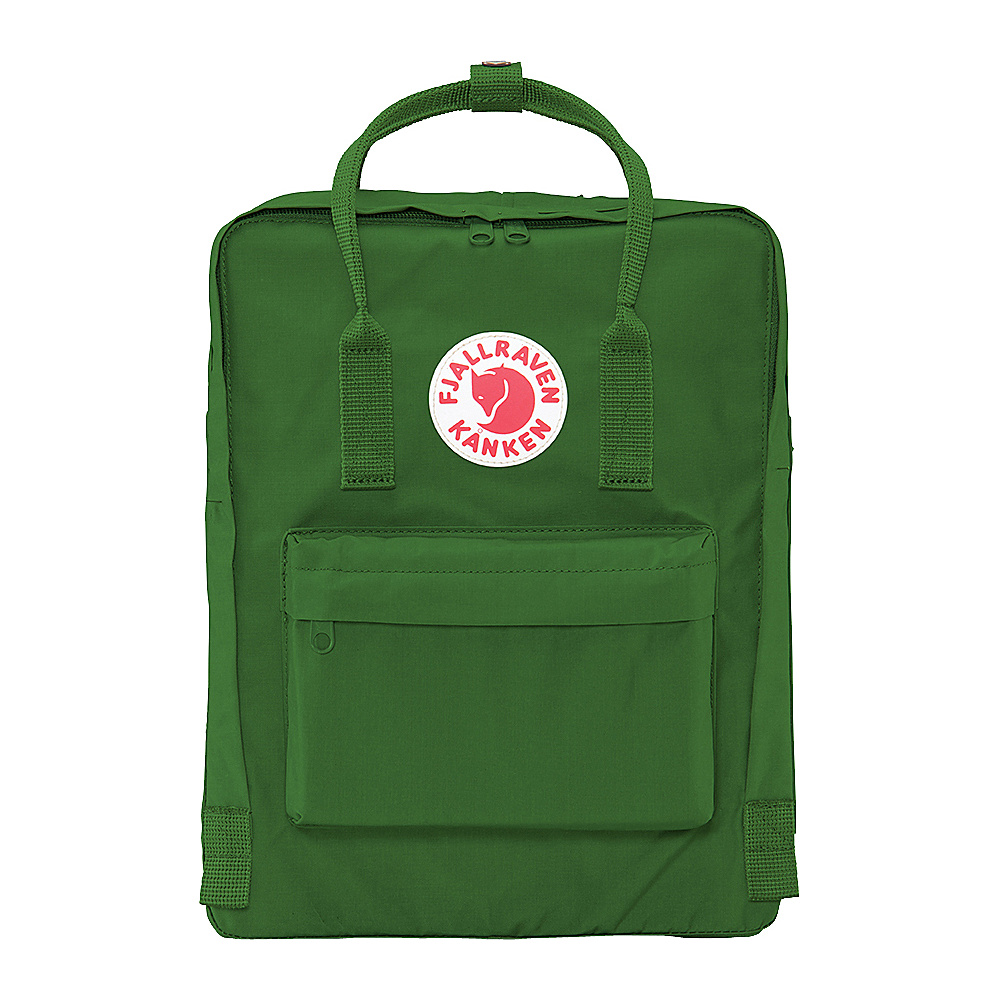 Fjallraven Kanken Backpack Leaf Green - Fjallraven Everyday Backpacks - Backpacks, Everyday Backpacks