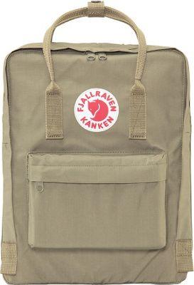 Fjallraven Kanken Backpack Putty - Fjallraven Everyday Backpacks