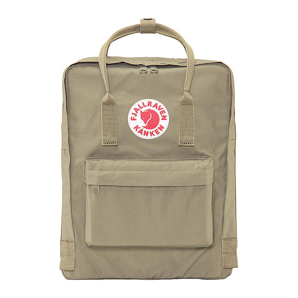 Fjallraven Kanken Backpack Putty Fjallraven Everyday Backpacks