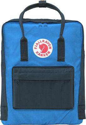 Fjallraven Kanken Backpack Graphite-UN Blue - Fjallraven Everyday Backpacks
