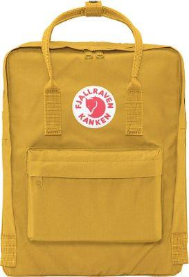 Fjallraven Kanken Backpack Ochre - Fjallraven Everyday Backpacks