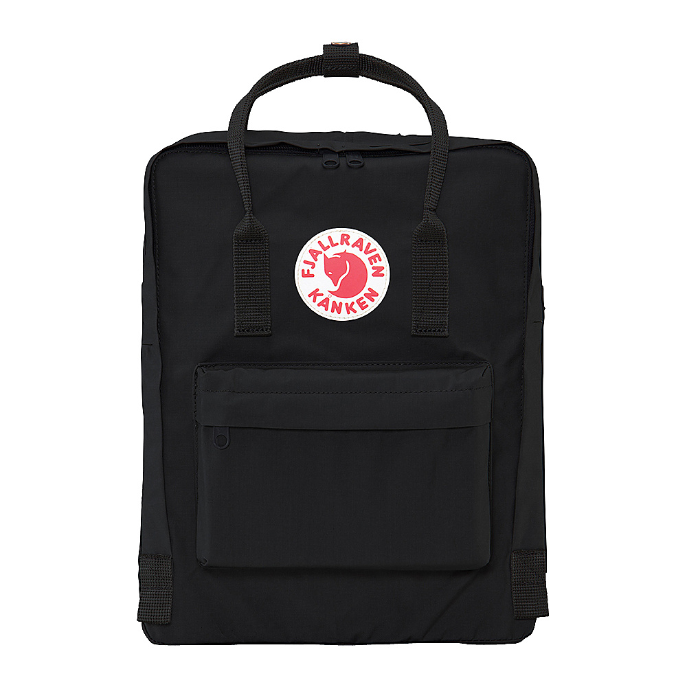 Fjallraven Kanken Backpack Black - Fjallraven Everyday Backpacks
