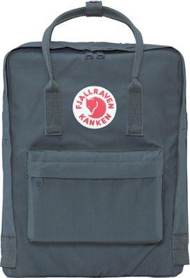 Fjallraven Kanken Backpack Graphite - Fjallraven Everyday Backpacks