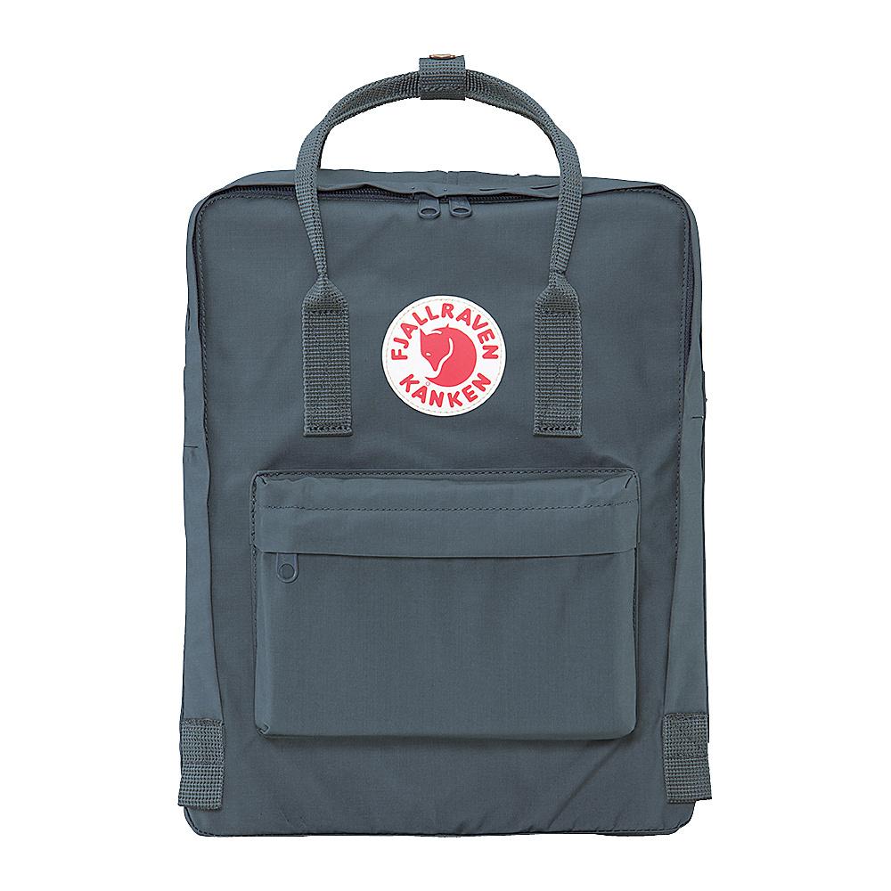 Fjallraven Kanken Backpack Graphite Fjallraven Everyday Backpacks