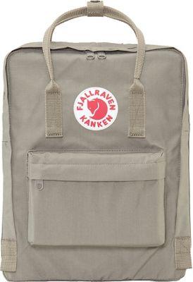 Fjallraven Kanken Backpack Fog - Fjallraven Everyday Backpacks