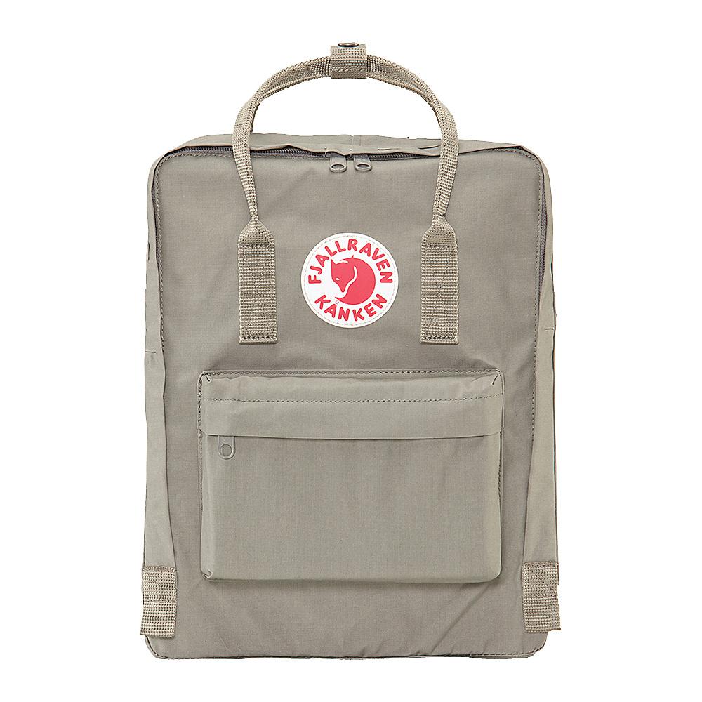Fjallraven Kanken Backpack Fog Fjallraven Everyday Backpacks