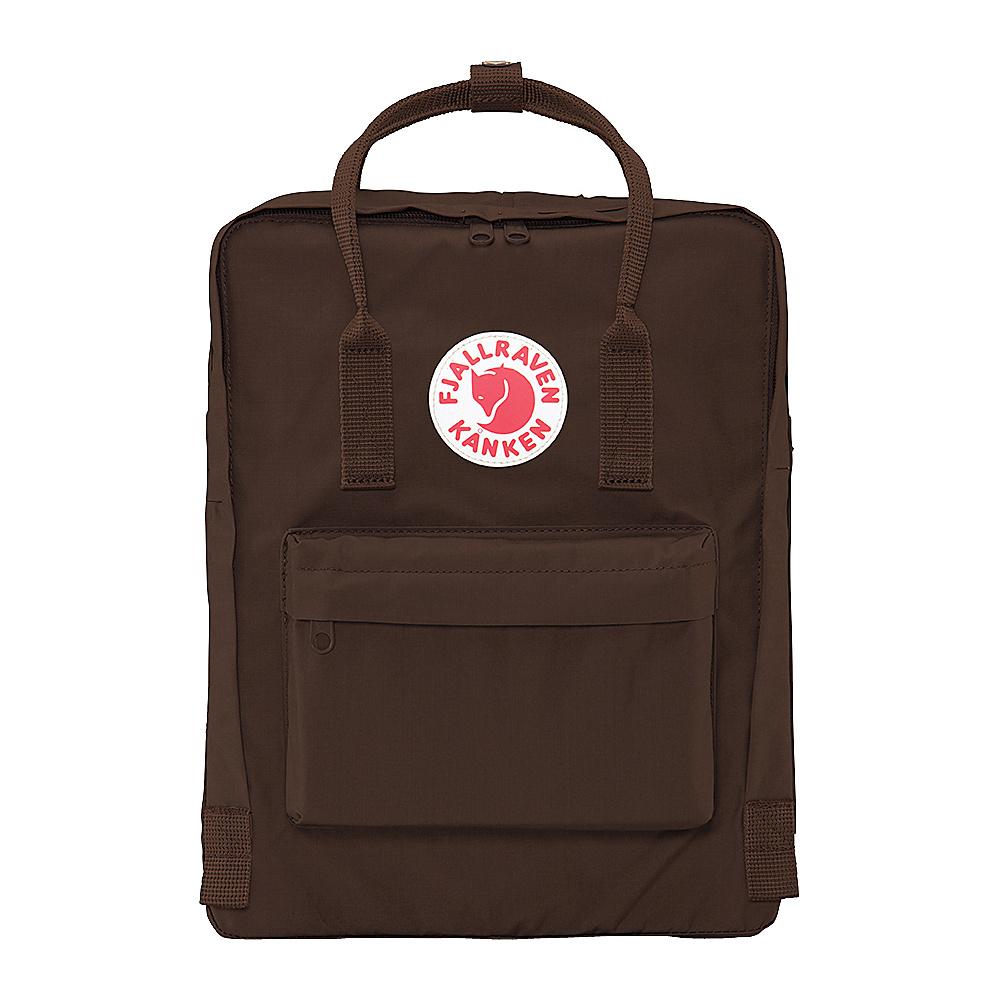 Fjallraven Kanken Backpack Brown Fjallraven Everyday Backpacks