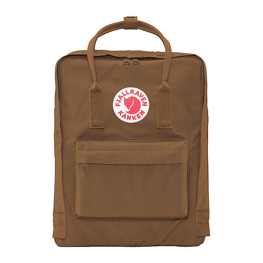 Fjallraven Kanken Backpack Sand - Fjallraven Everyday Backpacks - Backpacks, Everyday Backpacks