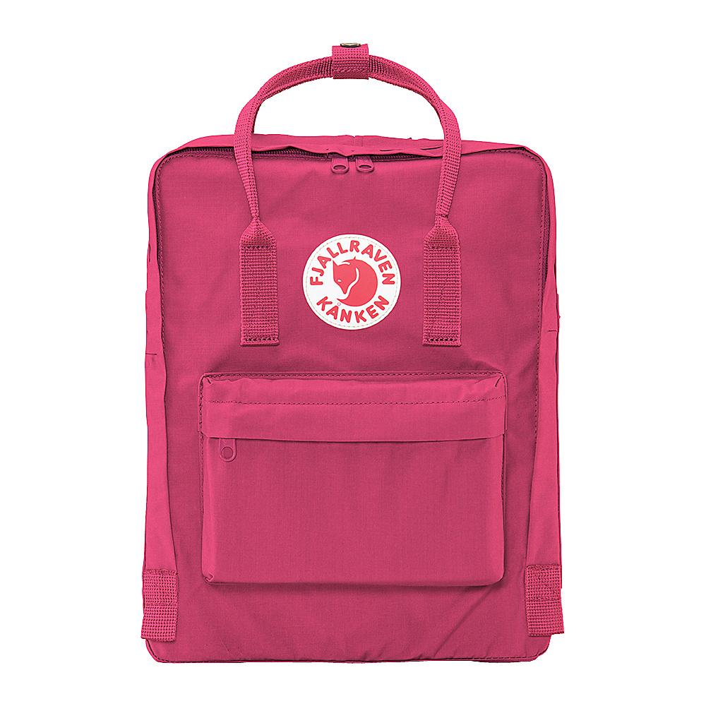 Fjallraven Kanken Backpack Plum - Fjallraven Everyday Backpacks - Backpacks, Everyday Backpacks