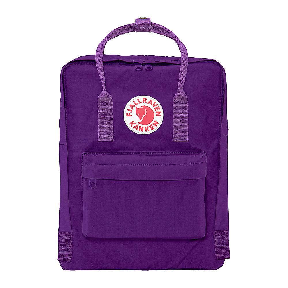 Fjallraven Kanken Backpack Purple-Violet - Fjallraven Everyday Backpacks - Backpacks, Everyday Backpacks
