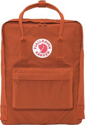 Fjallraven Kanken Backpack Brick - Fjallraven Everyday Backpacks