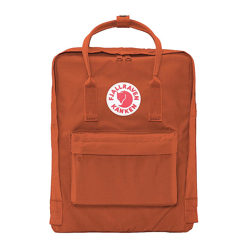 Fjallraven Kanken Backpack Brick Fjallraven Everyday Backpacks