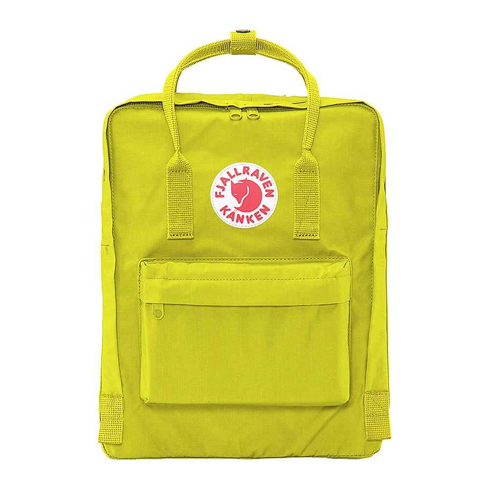 Fjallraven Kanken Backpack Birch Green - Fjallraven Everyday Backpacks - Backpacks, Everyday Backpacks