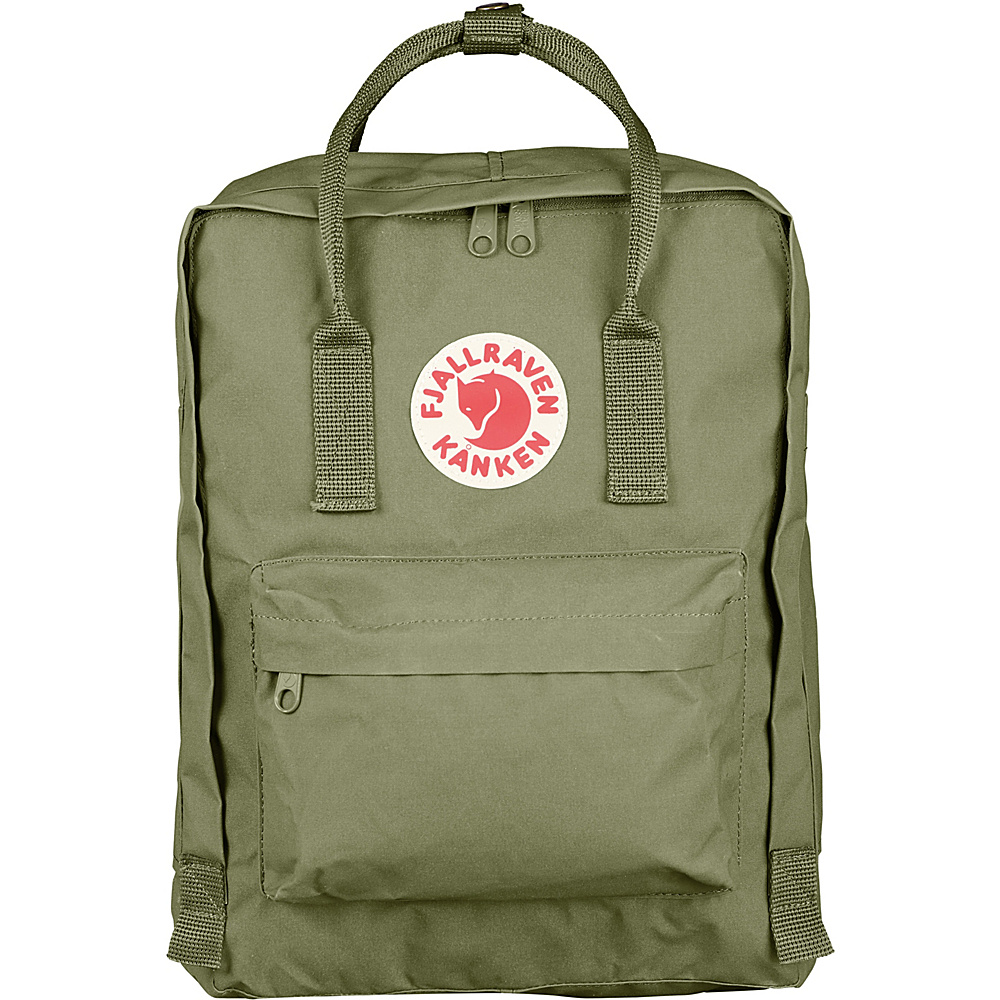 Fjallraven Kanken Backpack Green - Fjallraven Everyday Backpacks - Backpacks, Everyday Backpacks
