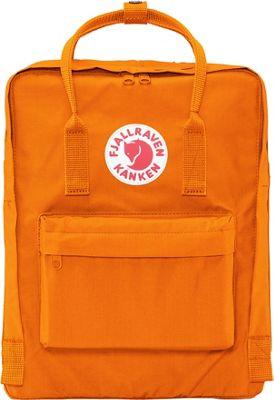 Fjallraven Kanken Backpack Burnt Orange - Fjallraven Everyday Backpacks
