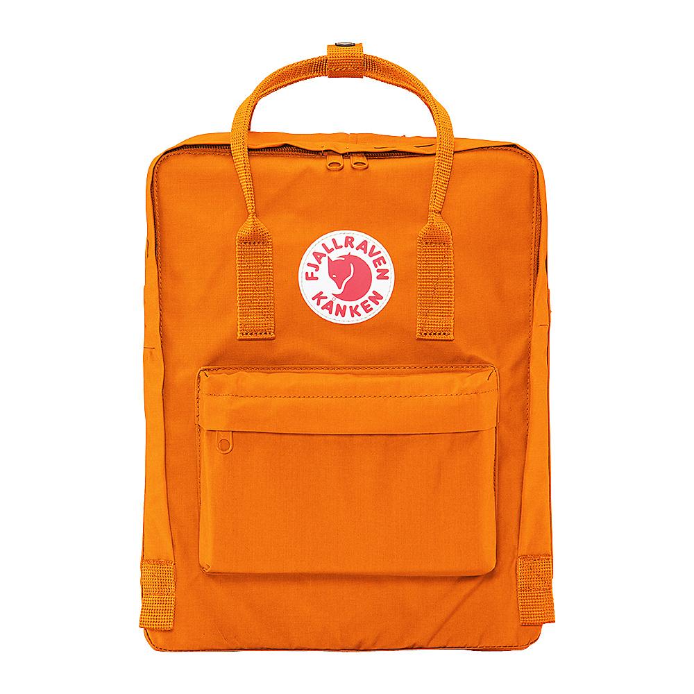 Fjallraven Kanken Backpack Burnt Orange - Fjallraven Everyday Backpacks - Backpacks, Everyday Backpacks