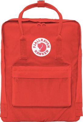 Fjallraven Kanken Backpack Deep Red - Fjallraven Everyday Backpacks